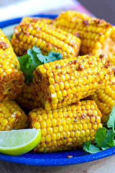 INSTANT POT CORN ON THE COB WITH CAJUN BUTTER AND LIME. 23 Instant Pot Side Dishes that Steal the Show  #purewow #food #sidedish #instantpot #cooking #easy #vegetable #instantpotrecipes #cornonthecob #cornrecipes