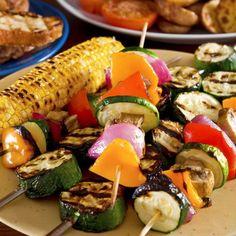 Espetinho de legumes                                                                                                                                                                                 Mais