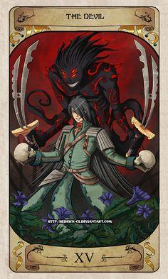 Cerebium Tarot 15 - The Devil by Hedrick-CS.deviantart.com on @deviantART