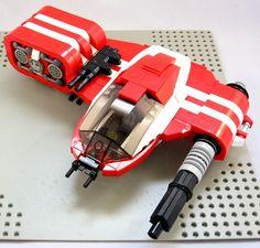 ...                                                                                                                                                                                 More Lego Spaceship, Lego Robot, Spaceship Design, Lego Mecha, Lego War, Nave Lego, Space Engineers, Lego Ship, Star Wars Vehicles