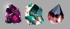 Gem studies by Dr-Aim on DeviantArt
