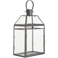 Hand-painted and rust-resistant, our simple little lantern is a must-have for any indoor or outdoor space. Fill it with a pillar candle to bring some light to your favorite shelf or tabletop, or hang a few on the patio and watch the mood take an instantly warmer turn.