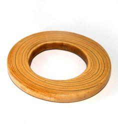 Sudan | Bracelet from the Dinka people | Ivory; light colour with dark grain. |  Est. 250 - 290€ ~ (Sept. '10)