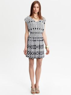 Taryn print dress