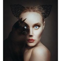 """""""Artist Flora Borsi Becomes One With Animals By Replacing Her Eyes With Theirs  _ Also check out our 2nd art featuring page @artshelp"""" Photo taken by @arts_help on Instagram, pinned via the InstaPin iOS App! http://www.instapinapp.com (01/18/2016)"""