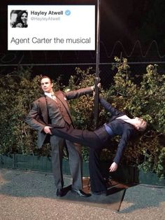 Agent Carter - the musical!>> I want this to happen!