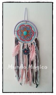 atrapasueños mandala artesanal decoracion