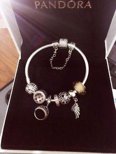 50% OFF!!! $219 Pandora Charm Bracelet Pink. Hot Sale!!! SKU: CB01795 - PANDORA Bracelet Ideas