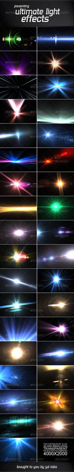 35 Ultimate Light Effects Volume 3