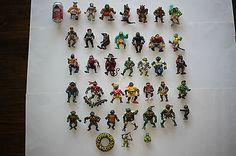 #Collection of 37 vintage teenage #mutant ninja turtles #action figures lot tmnt ,  View more on the LINK: 	http://www.zeppy.io/product/gb/2/262583712370/