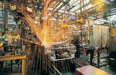 Welding on automotive assembly line