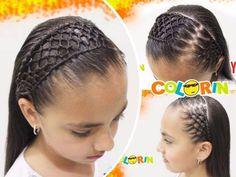 Little Girl Hairstyles, Cute Hairstyles, Hairdos, Baby Hair Cut Style, Your Hair, Braids, Hair Styles, Flan, Women