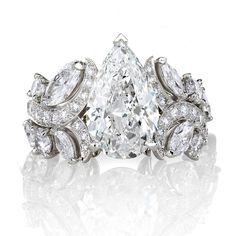 De Beers Adonis Rose diamond engagement ring