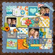 Family A+B = You and Me - Scrapbook.com