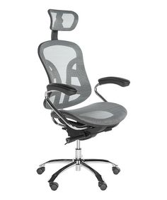 Gray Madeline Desk Chair   zulily