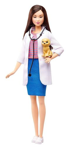2016 Barbie PET VET Asian Doll You Can be Anything New | eBay Tan lab Puppy