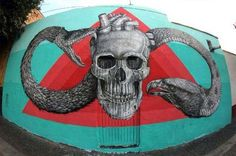 Alexis Diaz in Queretaro, Mexico #alexisdiaz #mexico #streetart