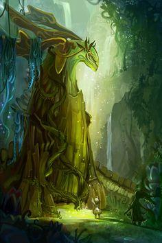 Green amazing art by Lianna Tai