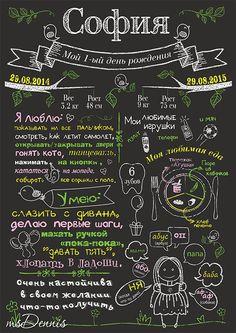 chalkboard print постер мои достижения плакат в детскую комнату на день рождения Наш #плакатдостижений #ChalkboardPoster