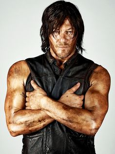 Daryl Dixon played by Norman Reedus. Such an amazing character on The Walking Dead