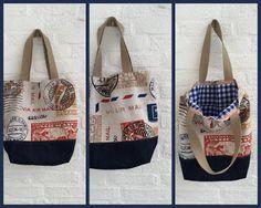 Model Post unieke handgemaakte tassen van   XzieXzie