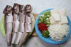 Baek Jong-won How to make kodari stew Easy and delicious recipes! : Yes … – Shellfish Recipes Korean Dishes, Korean Food, Fish Boil, Shellfish Recipes, Stew, Yummy Food, Delicious Recipes, Food And Drink, Cheese