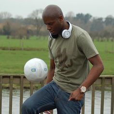 If ex-Villa midfielder Ian Taylor's new headphones don't incur the legal wrath of Beats by Dre, nothing will New Headphones, Bluetooth Headphones, Aston Villa Players, Ian Taylor, Beats By Dre, Latest Sports News, Football, Models, My Style