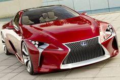 Imágenes de carros de lujo en color rojo   todo en imágenes