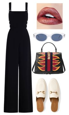 """Untitled #326"" by lonedsirs ❤ liked on Polyvore featuring Zimmermann, Gucci and Yves Saint Laurent"