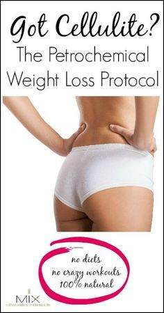 The Petrochemical Weight Loss Protocol to Lose Inches & CelluliteMIX | wellness solutions for a balanced life