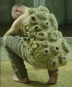 Barnacle crochet...