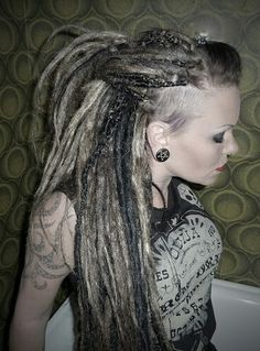 Pretty synthetic dreads