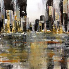 """Découvrez la collection de peintures """"New york"""" de Jean Fontan. #art, #peinture, #paint, #City, #NY, #NewYork"""