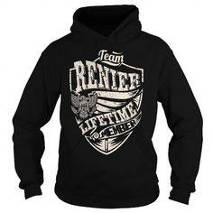 Buy RENIER T shirt - TEAM RENIER, LIFETIME MEMBER