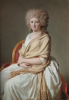 Portrait of Anne ­Marie ­Louise Thélusson, Comtesse de Sorcy, Jacques Louis David