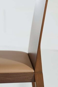 Upholstered oak chair CONCETTO | Oak chair - Potocco