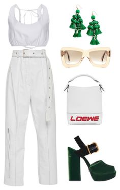 """Untitled #1239"" by lucyshenton ❤ liked on Polyvore featuring Prada, Sandy Liang, Kate Spade and Roksanda"