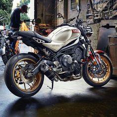 Yamaha Motorcycles, Custom Motorcycles, Custom Bikes, Yamaha Mt07, Cafe Bike, Cafe Racer Bikes, Sr500, Xjr, Moto Bike