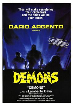 Demons (1985) http://www.imdb.com/title/tt0089013/