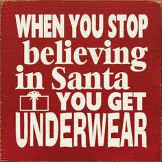 All you grinches and scrooges beware!  Unless you get undies from Victoria's Secret!