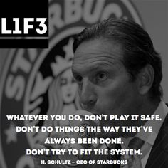 #quote #starbucks #schultz Free College Courses, Howard Schultz, Higher Education, Thought Provoking, Inspire Me, Awakening, Wise Words, Starbucks, Me Quotes