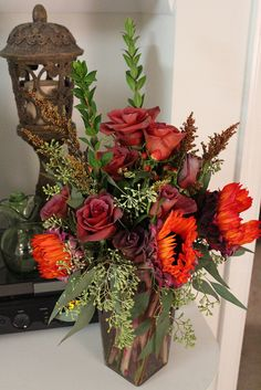 DIY Floral Arrangement by TALLhouse, via Flickr