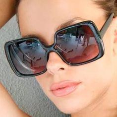 Oversized black sunglasses Very trendy oversized black sunglasses 100% uv protection hand polished frame black lens black Accessories Sunglasses