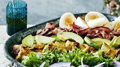My Cookbook, Blue Cheese, Palak Paneer, Cobb Salad, Onion, Picnic, Salads, Bbq, Good Food