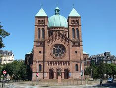 Absolute Eglise St Pierre Le jeune 01 - Romanesque architecture - Wikipedia, the free encyclopedia