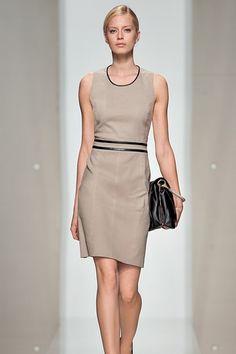 Hugo Boss beige dress