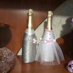 Бутылки на свадьбу