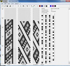 Bead Crochet rope Pattern chart. Lots of those on that link