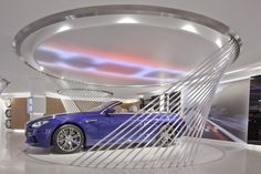 BMW showroom :: Mindseye Lighting Design.  Paris