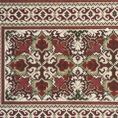 Counted Cross Stitch Patterns, Bohemian Rug, Embroidery Designs, Stitches, Diy And Crafts, Traditional, Rugs, Farmhouse Rugs, Needlepoint